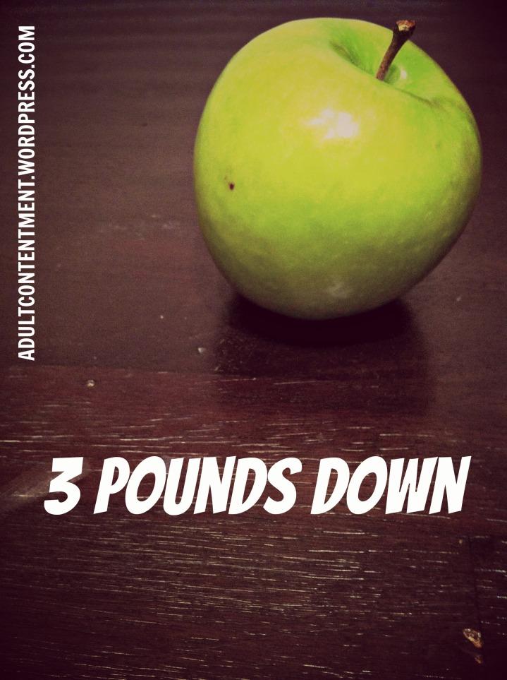 3 pounds